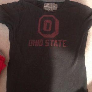 Two Nike Ohio state large shirts